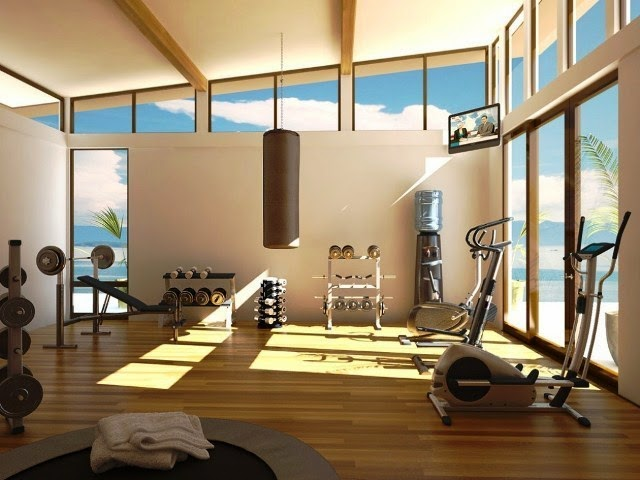 wall colors for a home gym