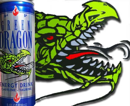 Green Can Energy Drink Green Dragon Energy Drink