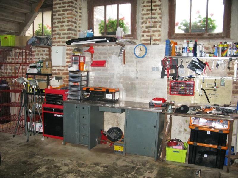 projet piste garage au top. Black Bedroom Furniture Sets. Home Design Ideas