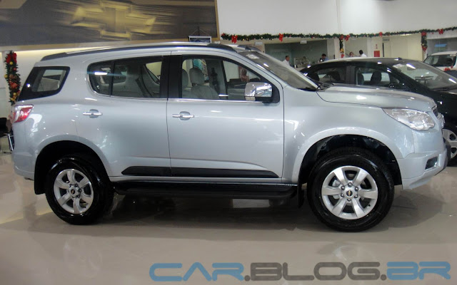 Chevrolet Trailblazer 2.8 Turbodiesel - fotos, preço e ficha técnica