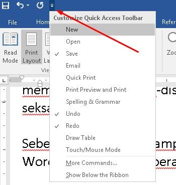 Cara Mematikan / Disable Fitur Autocorrect Pada Microsoft Word