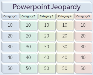jeopardy ppt template free powerpoint templates. Black Bedroom Furniture Sets. Home Design Ideas