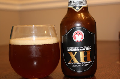 Hitachino Nest XH, Matured in Sake Casks