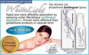 whitelight - Aim Global Product: Whitelight Glutathione Sublingual Spray  - Fashion Trend