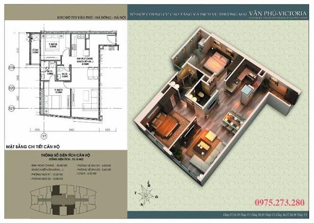 Bán cư xá Văn Phú Victoria căn 04 , 06 , 16