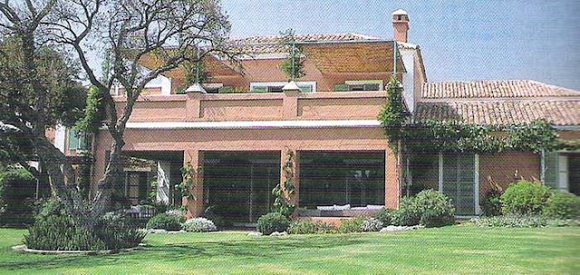 Exteriores de una casa gaditana