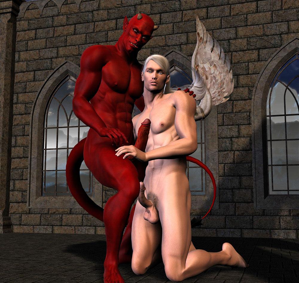 from Blaine gay naked satan pics