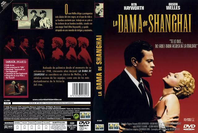 Caratula de dvd de la película: La Dama de Shanghai | 1947 | The Lady From Shanghai