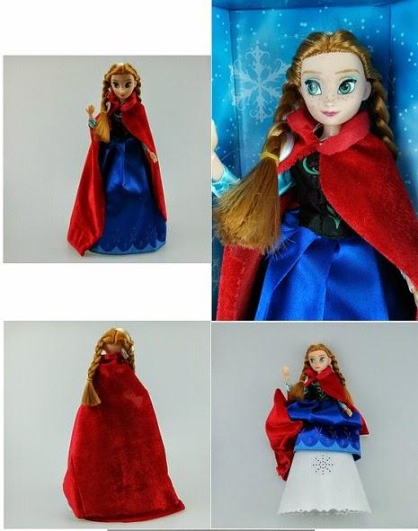 Kado ulang tahun berupa mainan boneka cantik Anna Doll