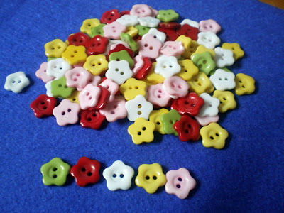 Flower Button 11mm