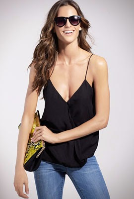 catálogo SuiteBlanco primavera verano 2014 jeans y top