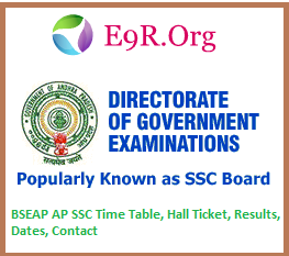 AP SSC/OSSC examinations, Courses, Contact Address