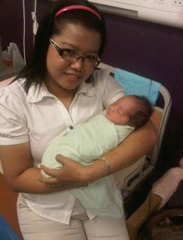 Me & Baby Kak Finie..:-)