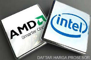 daftar harga prosesor terbaru intel amd