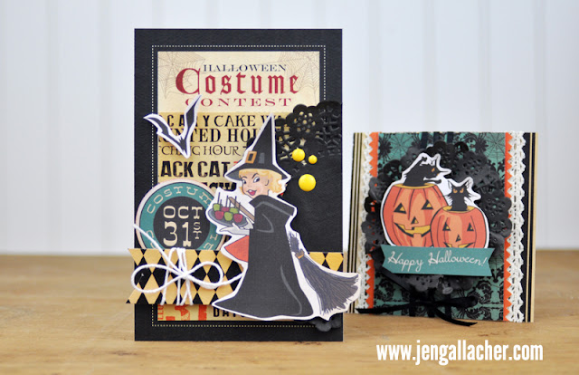 Halloween Cards designed by Jen Gallacher found at www.jengallacher.com.