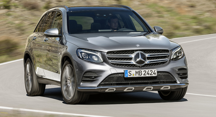 All electric mercedes benz elc crossover could arrive in 2018 for Mercedes benz cross over