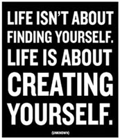 Creating Yourself..
