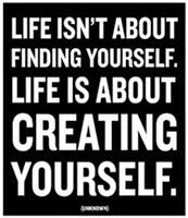 Creating Yourself..