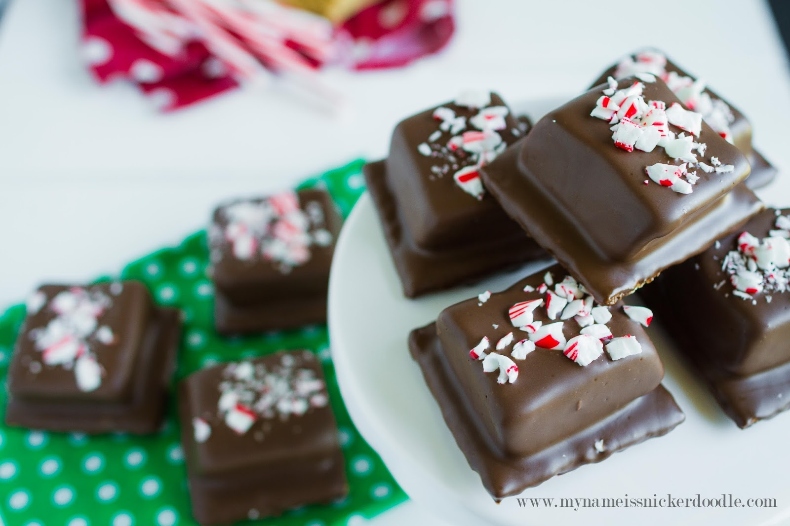 Christmas Peppermint S\'mores Video - My Name Is Snickerdoodle