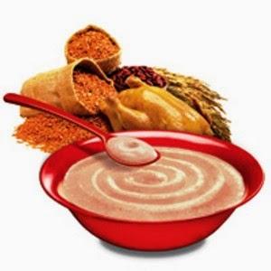 Resep Makanan Bayi Bubur Beras Merah