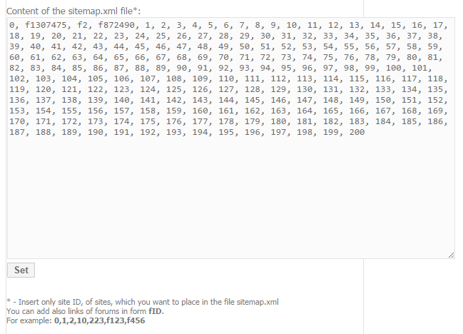 Configuring Sitemap On Wapka Wapsite