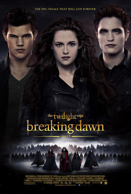 Twilight Breaking Dawn Part 2 movie poster large