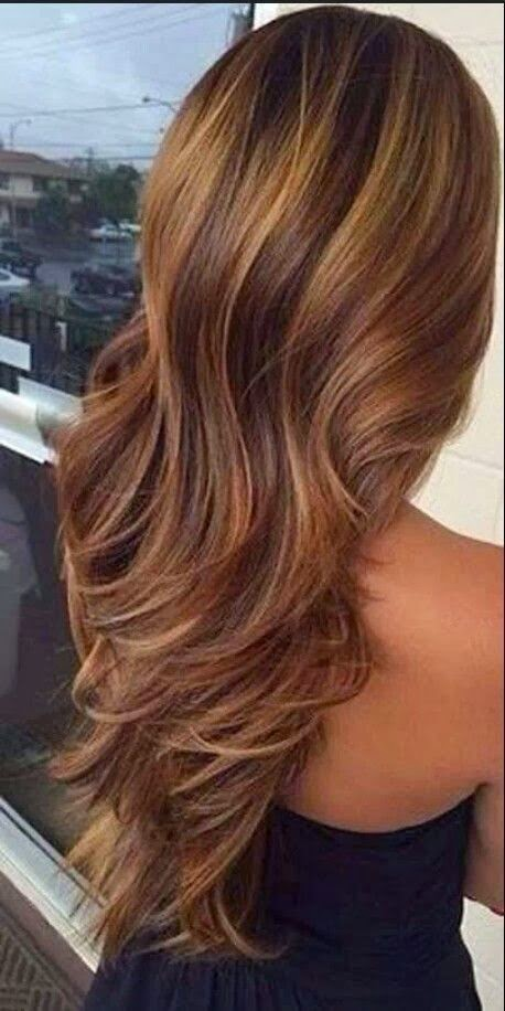 4 stunning highlights for dark brown hair 2014 hairstyles hair when you place the shade all over the ends of your curls your locks are going to stun the people who are around you dark brown hair with red highlights pmusecretfo Choice Image