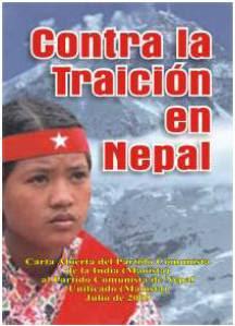 CONTRA LA TRAICIÓN EN NEPAL