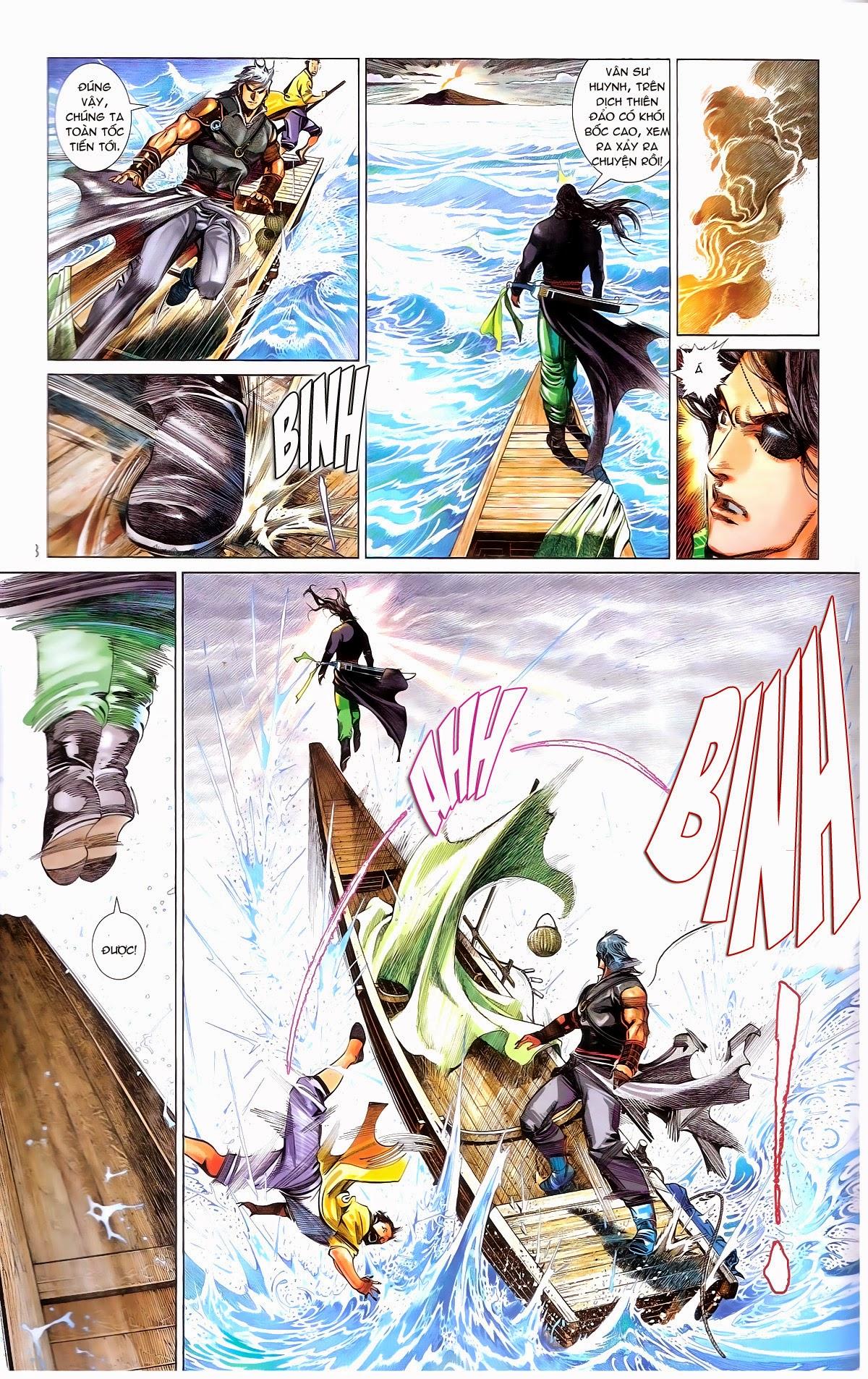 Phong Vân chap 672 Trang 13 - Mangak.info