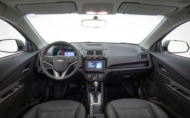 Chevrolet Cobalt Graphite 1.8 2016 - interior