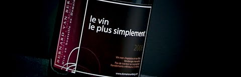 Le vin le plus simplement