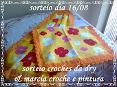 sorteio do meu blog com parceria de dry croches