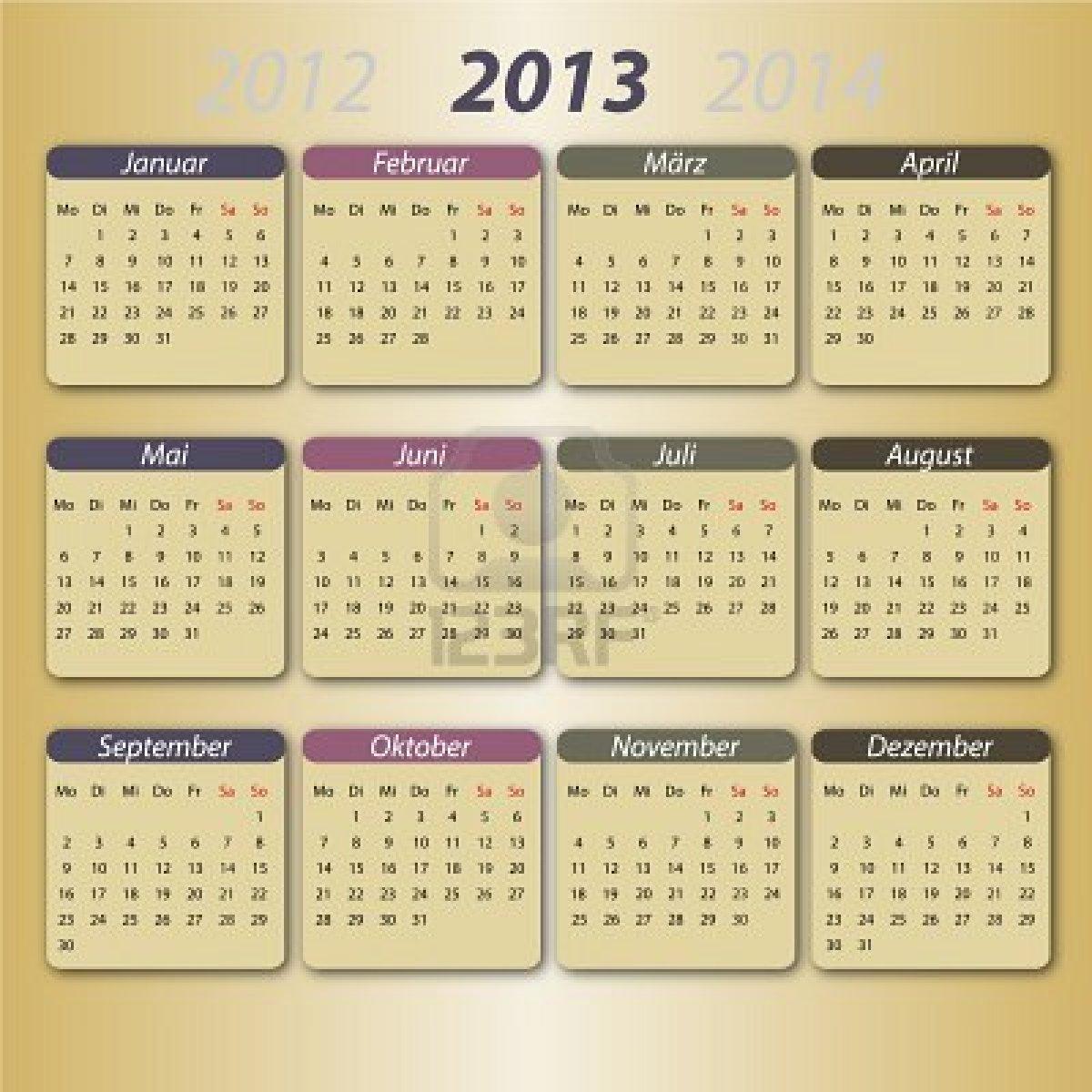 Kalender Merah Hari Libur Nasional 2012 dan 2013