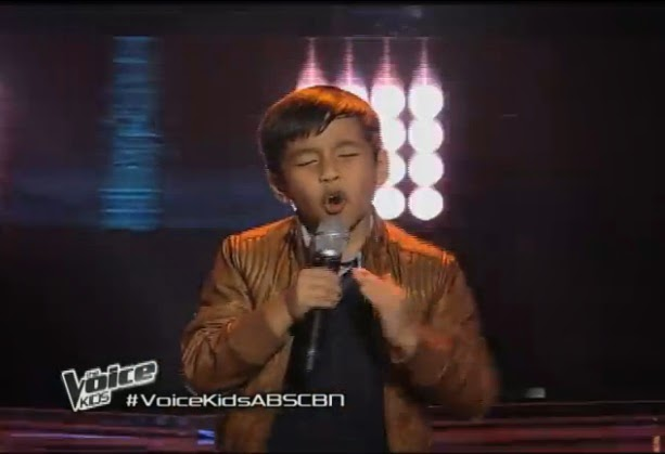 """Sam Shoaf sings """"Treasure"""" on 'The Voice Kids' Philippines"""