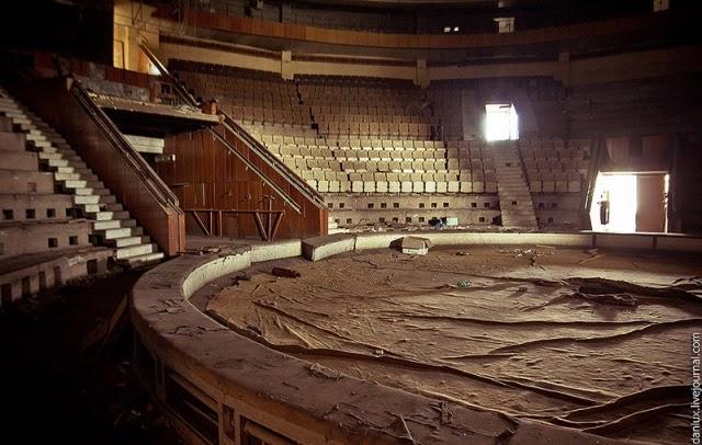 El que fuera el mejor circo de la URSS, abandonado