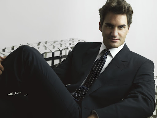 Federer podría ser modelo!!!! SunnyRoger61