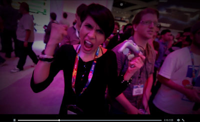 E3 woman promotional trailer video Electronic Entertainment Expo GameCube controller