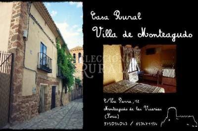 Resultado de imagen de casa rural villa de monteagudo