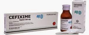 Dosis Obat CEFIXIME (Cefixime/Sefiksim)