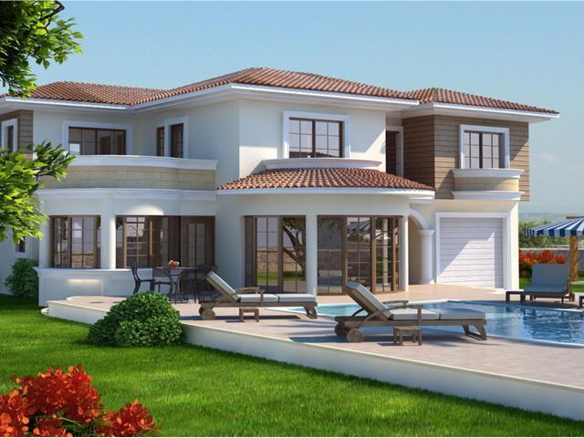 Modern villas exterior designs Cyprus. | Home Interior Dreams