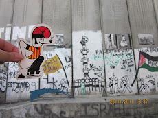 El catganer per terres Palestines.
