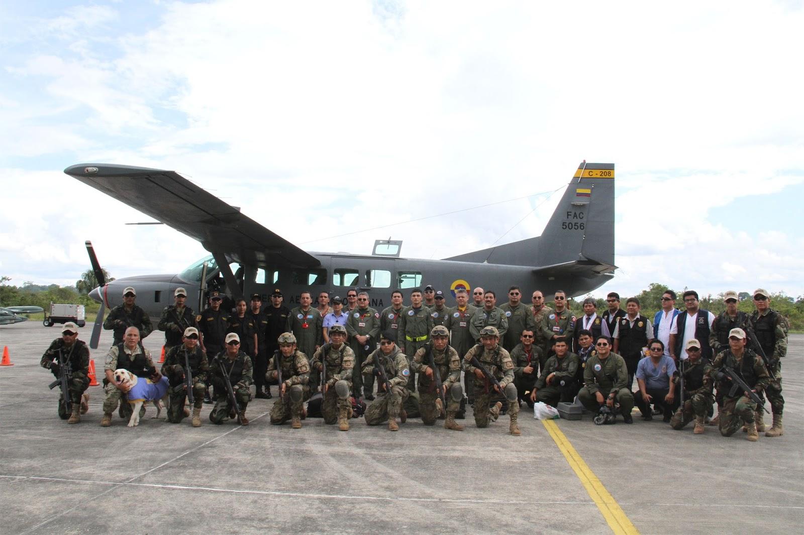 Fuerza Aerea Colombiana Ejercicios PERCOL