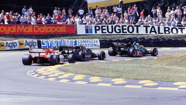 GP Da Inglaterra de F1, Silverstone em 1984 - pordentrodosboxes.blogspot.com