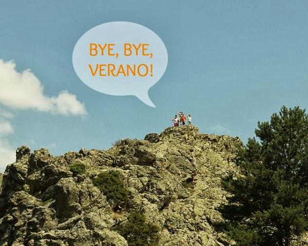 Adiós verano, adiós!