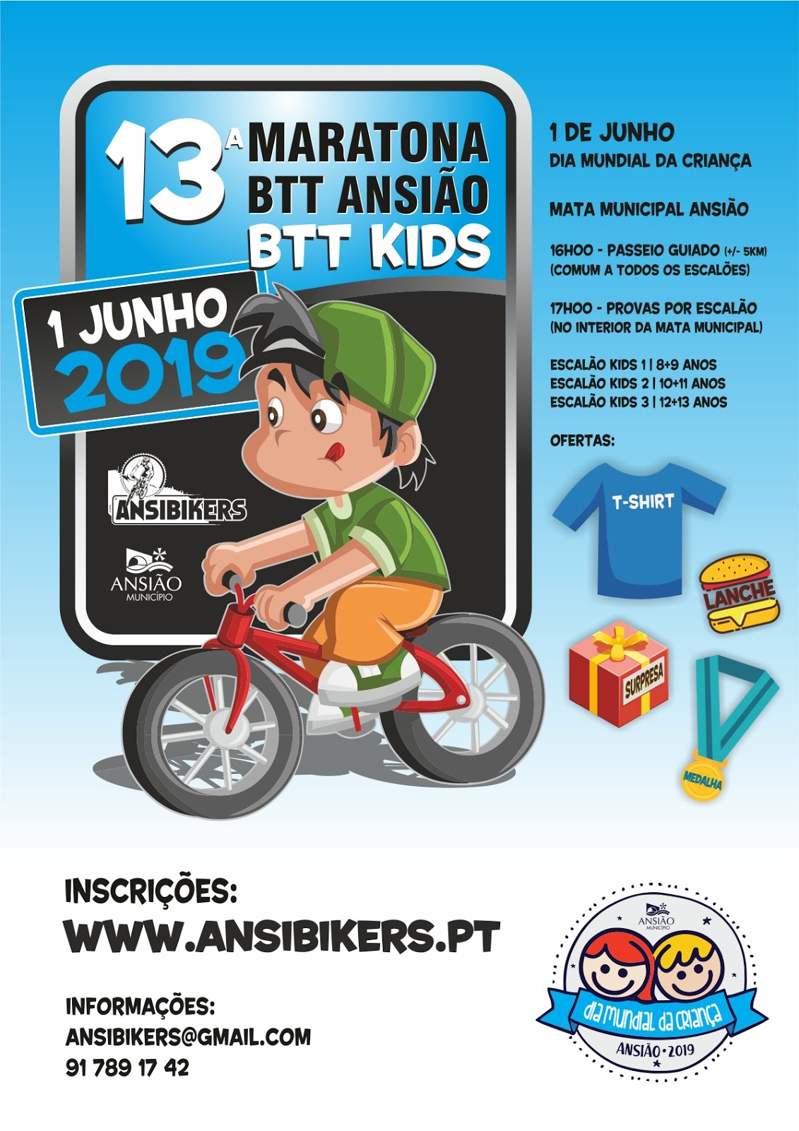 13ª Maratona BTT de Ansião - BTTKIDS