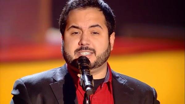 Quintín canta Caruso-La Voz 3. Audiciones a ciegas Gala 5