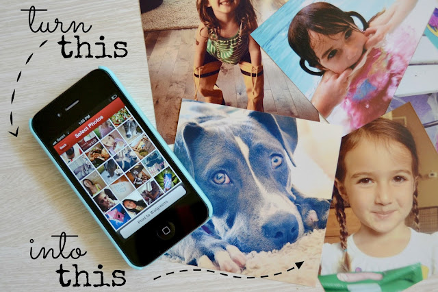 Mommy Testers how to print Instagram photos from iPhone with #WalgreensApp #shop
