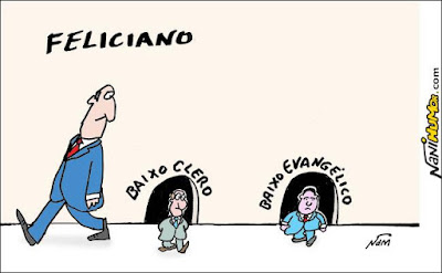 """Feliciano afirma que ser gay virou """"modismo; eu vou  virar """"lésbico"""""""