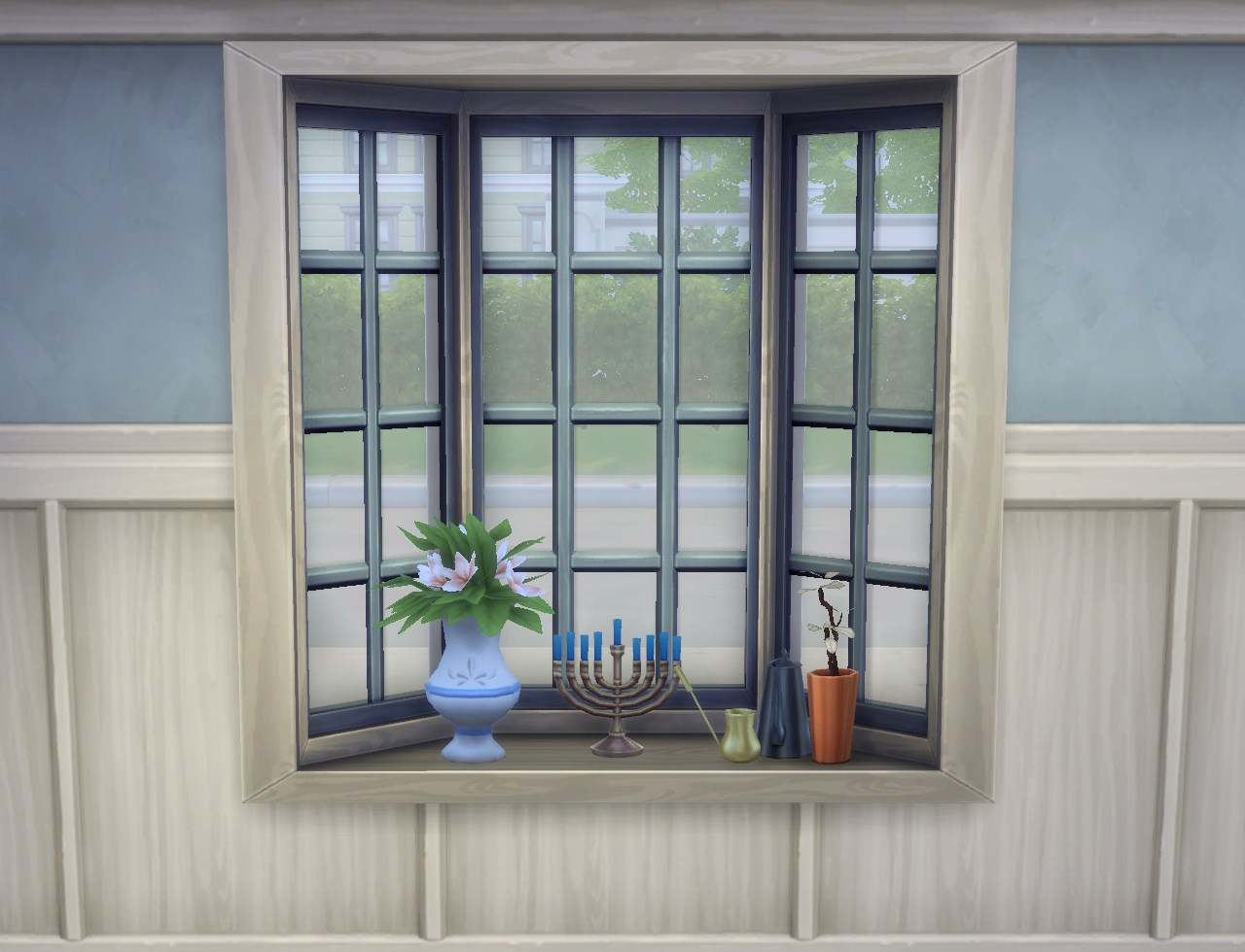 My Sims 4 Blog Basic Bay Window With Slots And Two Tile