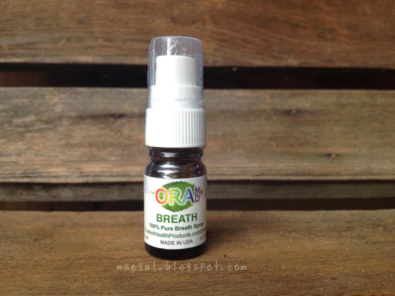 OraMD Breath Spray Bottle | maegal.blogspot.com